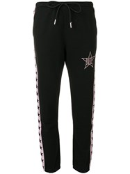 Diesel Star Logo Track Pants Black