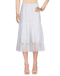 Leon And Harper 3 4 Length Skirts White
