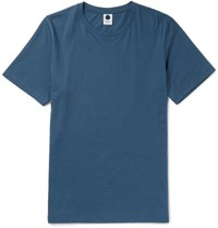 Nn.07 Nn07 Pima Cotton Jersey T Shirt Blue