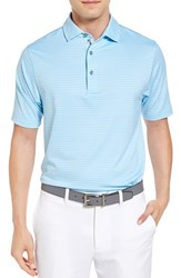 Bobby Jones Men's Haze Stripe Stretch Polo