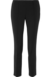Jason Wu Stretch Cotton Blend Tapered Pants Black