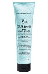 Bumble And Bumble Don't Blow It Fine Hair Styler No Color