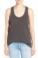 Splendid Women's Cotton Racerback Tank Lead