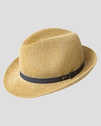 Bailey Of Hollywood Elliott Paper Crochet Straw Hat Natural