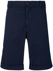 Brunello Cucinelli Flap Pocket Shorts Blue