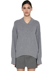 Sportmax Cashmere Knit Sweater Grey