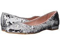 Chinese Laundry Gavin Flat Silver Sequins Shoes