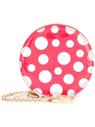 Louis Vuitton Vintage Dot Infinity Coin Purse Red