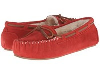 Tundra Boots Madelyn Red Women's Slippers