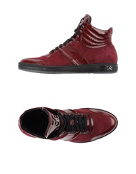 Fabi High Tops And Trainers Maroon