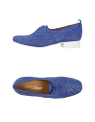 Jancovek Lace Up Shoes Blue