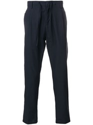 Paolo Pecora Regular Trousers Blue