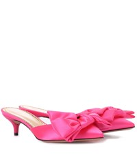 Charlotte Olympia Sophie Mules Pink