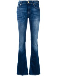 7 For All Mankind Jswb887xdd136824 Blu Blue