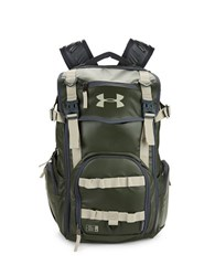 Under Armour Water Resistant Backpack Green