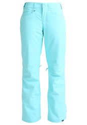 Roxy Backyard Waterproof Trousers Blue Radiance Light Blue
