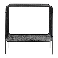 Nordal Iron Side Table Black
