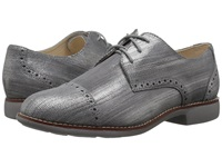 Cole Haan Gramercy Oxford Cap Ironstone Lizard Print Women's Lace Up Casual Shoes Gray