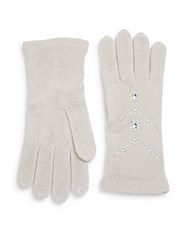 Saks Fifth Avenue Bling Ring Gloves Frost