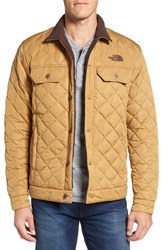 The North Face Men's Faux Shearling Lined Quilted Jacket