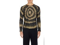 Marni Men's Tie Dyed Mohair Blend Sweater Black