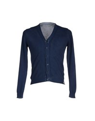 Szen Knitwear Cardigans Men Dark Blue