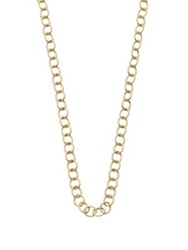 Temple St. Clair 18K Yellow Gold Classic Oval Link Necklace Chain 32
