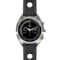 Mhd Watches Mhdcr1 With Black Dial And Black Strap Black White Grey
