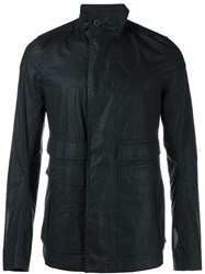 Rick Owens Cotton Field Jacket Black