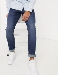Tom Tailor Skinny Culver Denim In Blue Wash