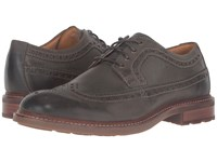Sperry Gold Annapolis Wingtip Olive Men's Lace Up Wing Tip Shoes