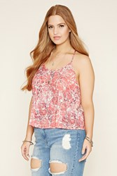 Forever 21 Plus Size Abstract Print Cami