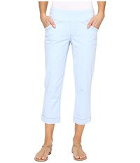 Jag Jeans Marion Crop In Bay Twill Bluebell Women's