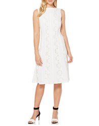 Rafaella Petite Boatneck Dress Snow White