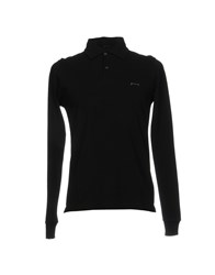 Pirelli Pzero Polo Shirts Black