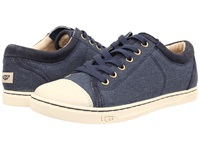 Ugg Taya Canvas Navy Canvas Women's Lace Up Casual Shoes Blue