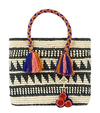 Yosuzi Kali Straw Tote Bag Multi