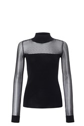 Roland Mouret Hottan Top Black