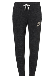 Nike Sportswear Gym Vintage Tracksuit Bottoms Black Sail
