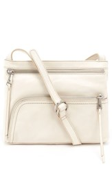 Hobo 'Cassie' Crossbody Bag White Magnolia