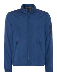 Replay Men's Hooded Jacket Blue