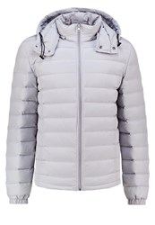 Pier One Down Jacket Light Grey