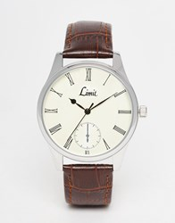 Limit Watch In Brown Brown