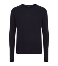 Tiger Of Sweden Matias Wool And Cashmere Jumper Male Navy