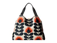 Orla Kiely Summer Flower Stem Large Holdall Sunset Handbags Multi