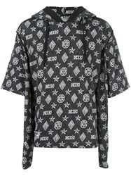 Ktz Double Sleeves Hoodie Black