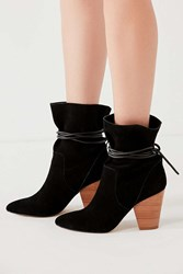 Urban Outfitters Carla Slouch Ankle Boot Black