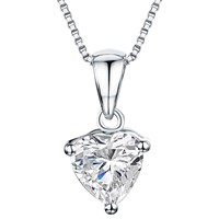 Jools By Jenny Brown Cubic Zirconia Pendant Silver