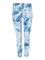 Seafolly Carribean Ink 7 8 Sports Legging Blue