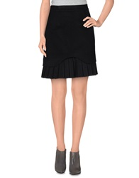 Ermanno Scervino Knee Length Skirts Black
